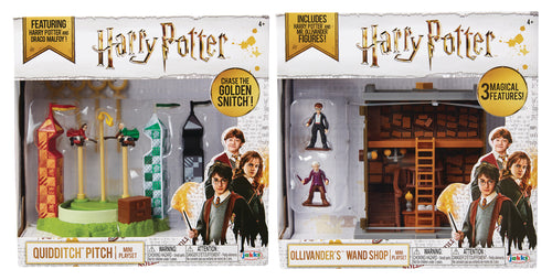 HARRY POTTER MINI PLAYSET WAVE 1 CS (Net) (C: 1-1-2)