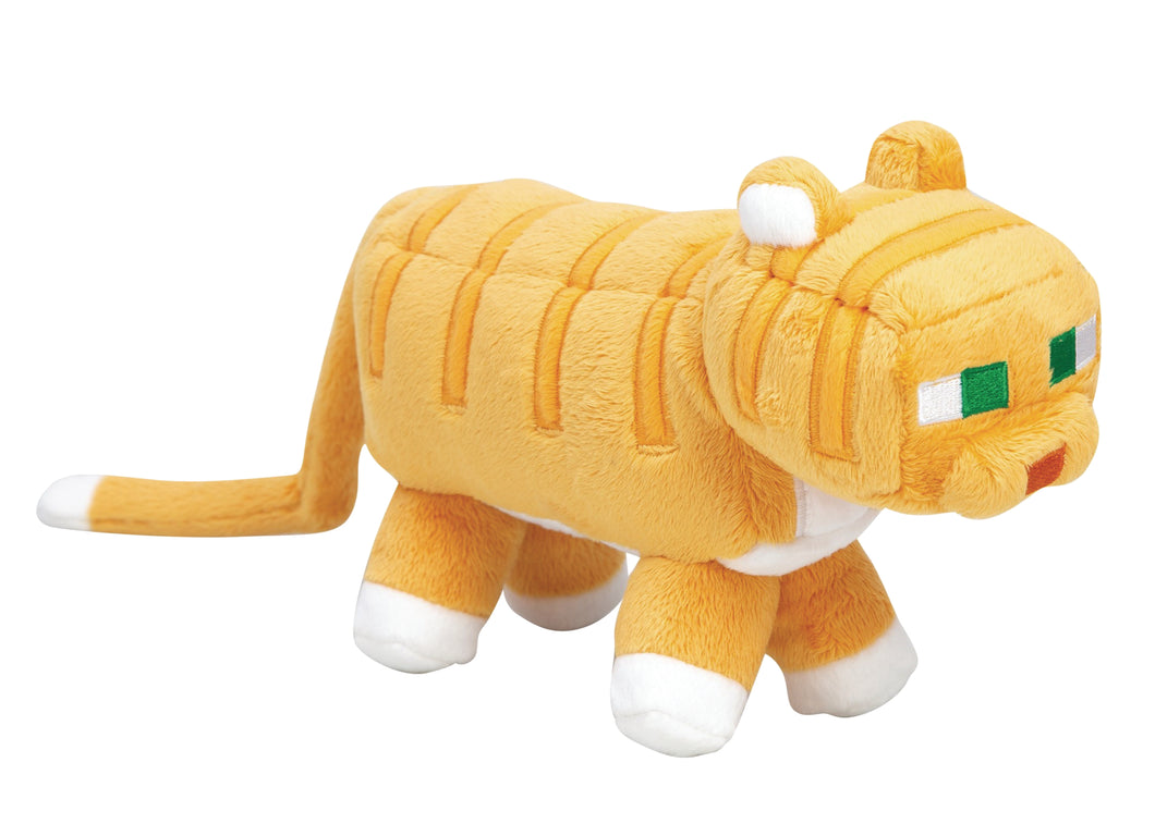 MINECRAFT ADVENTURE PLUSH TABBY CAT (C: 1-1-2)