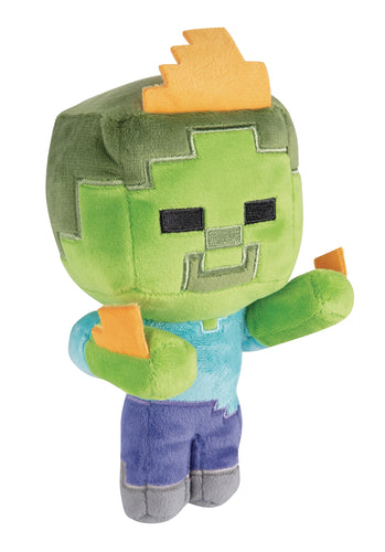 MINECRAFT HAPPY EXPLORER ZOMBIE ON FIRE PLUSH (C: 1-1-2)