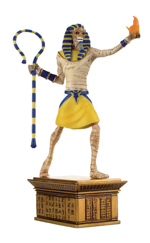 IRON MAIDEN LEGACY OF THE BEAST PHARAOH 1:10 SCALE STATUE (C