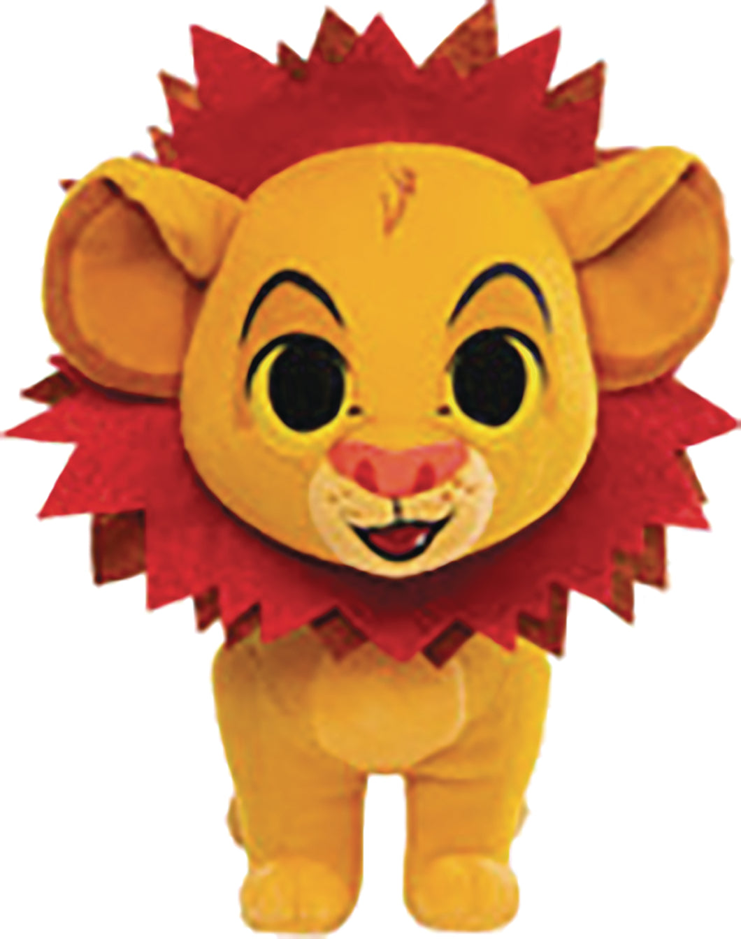 LION KING SIMBA W/ LEAF MANE PLUSH (C: 1-1-1)