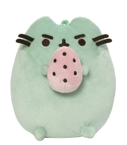 PUSHEEN GREEN WITH EGG 6IN PLUSH (C: 1-1-2)