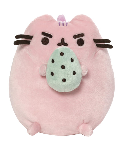 PUSHEEN COTTON CANDY WITH EGG 6IN PLUSH (C: 1-1-2)