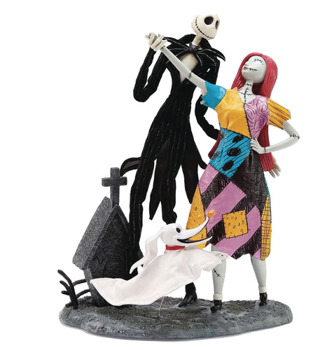 DISNEY SHOWCASE JACK SALLY AND ZERO DELUXE FIGURINE (C: 1-1-