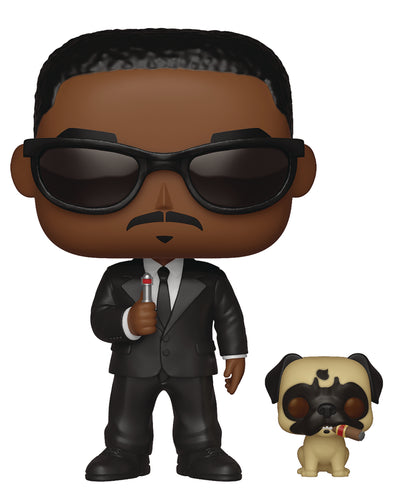 POP & BUDDY MEN IN BLACK AGENT J & FRANK VINYL FIG
