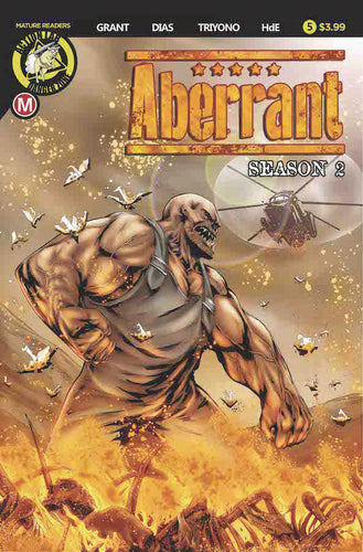 ABERRANT SEASON 2 #5 (OF 5) CVR A LEON DIAS (MR)