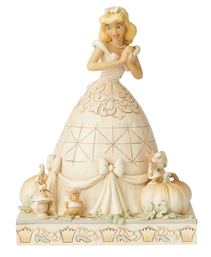 DISNEY WHITE WOODLAND CINDERELLA FIGURE (C: 1-1-2)