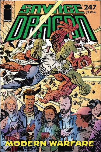 SAVAGE DRAGON #247 (RES) (MR)