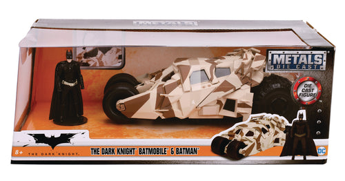 METALS THE DARK KNIGHT RISES TUMBLER BATMOBILE 1/24 VEHICLE