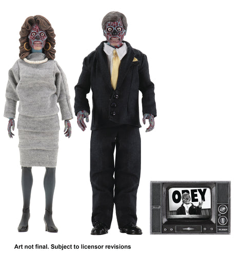 THEY LIVE ALIENS 8IN RETRO AF 2PK (C: 1-1-2)