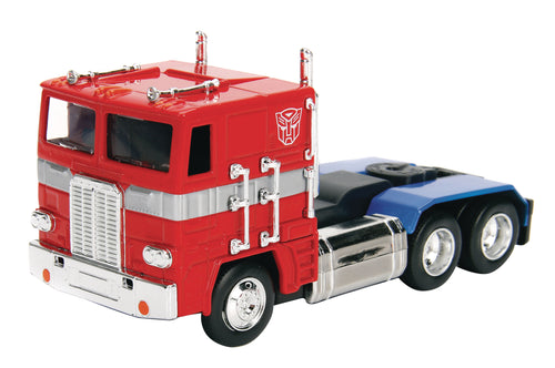 TRANSFORMERS G1 OPTIMUS PRIME 1/32 SCALE DIE CAST VEHICLE (N