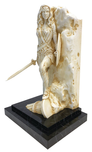 WONDER WOMAN NEO CLASSICAL MARBLE FINISH FINE ART STATUE (C: