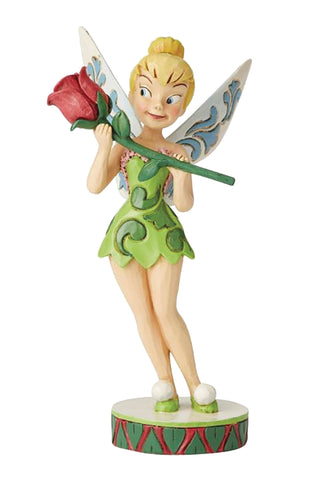 PETER PAN TINKER BELL WITH ROSE FIGURE (C: 1-1-2)