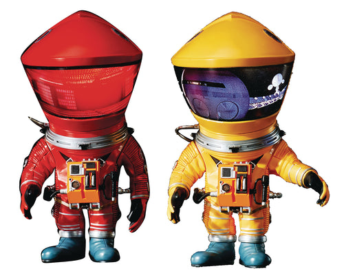 A SPACE ODYSSEY DF ASTRONAUT DEFO REAL RED & YELLOW 2PK (Net