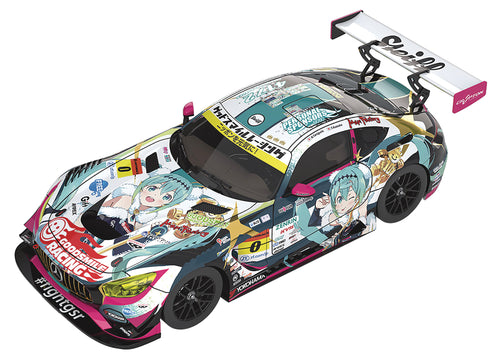 HATSUNE MIKU GT PROJECT 1/43 MINI CAR AMG 2018 FINAL VER (C: