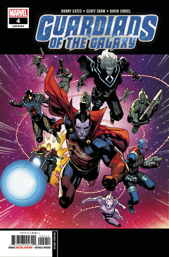 GUARDIANS OF THE GALAXY #4 2ND PTG SHAW VAR
