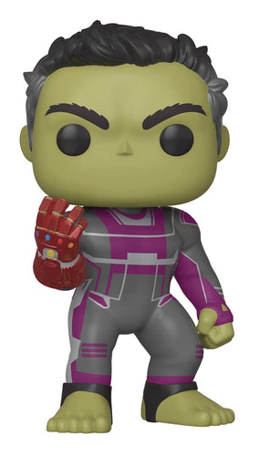 POP MARVEL AVENGERS ENDGAME HULK 6IN VINYL FIG (C: 1-1-2)