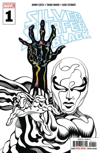 SILVER SURFER BLACK #1 (OF 5) 3RD PTG MOORE VAR