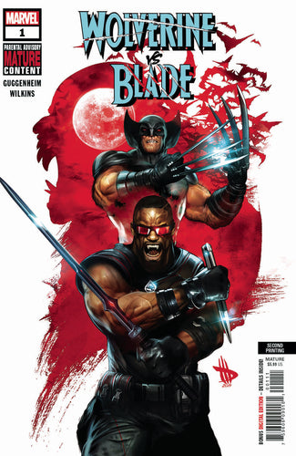 WOLVERINE VS BLADE SPECIAL #1 2ND PTG WILKINS VAR (MR)