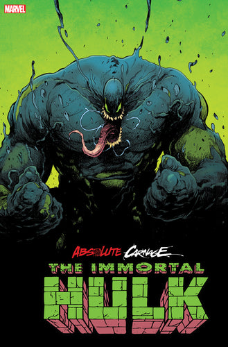 ABSOLUTE CARNAGE IMMORTAL HULK #1 2ND PTG ANDRADE VAR