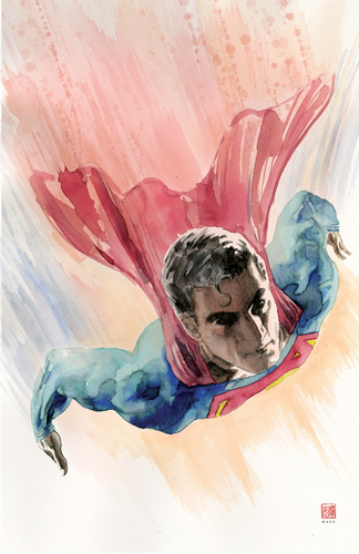 Superman #2 CVR B David Mack