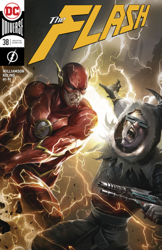Flash #38 Francesco Mattina Cover CVR B
