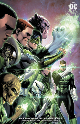 Hal Jordan and the Green Lantern Corps #50 CVR B