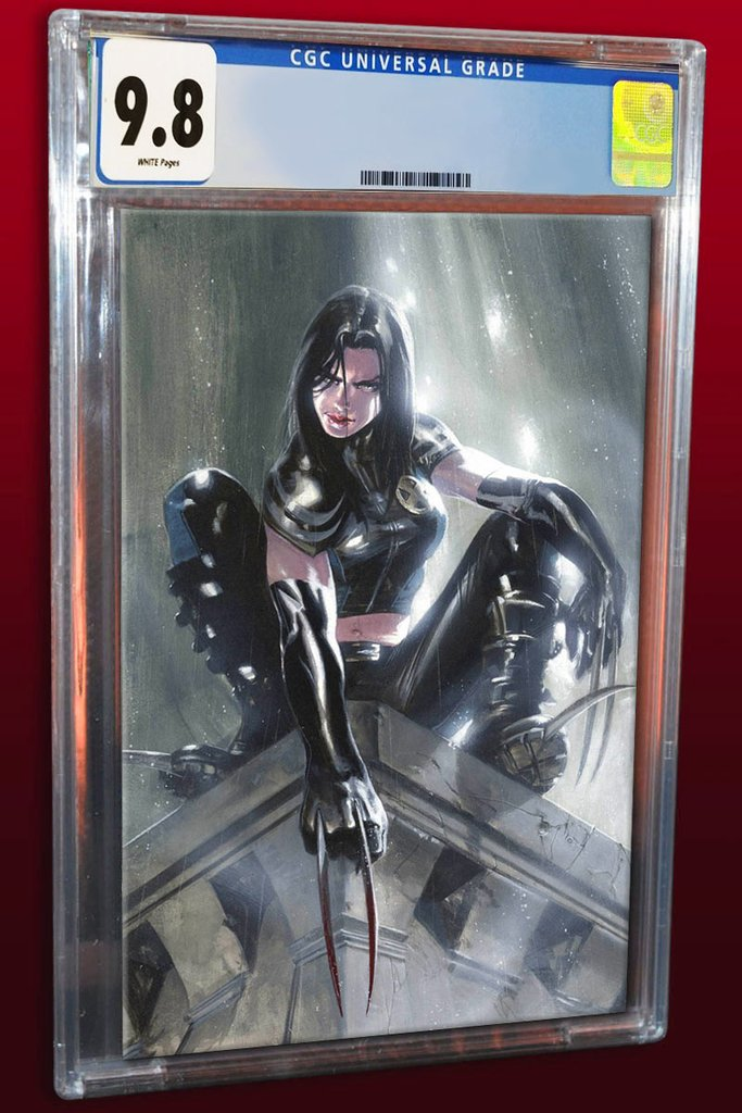 X-Men: Red #1 Gabriele Dell'Otto Virgin Exclusive CGC 9.8