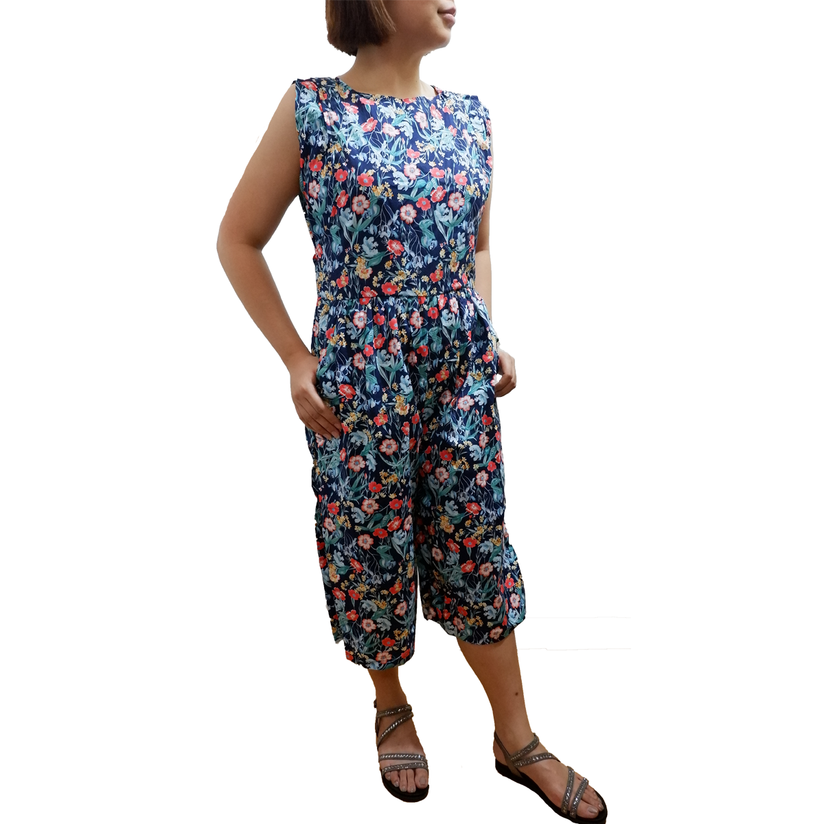 fc6cabf0666 Piper Floral Jumpsuit – Ellie   Me Mommywear
