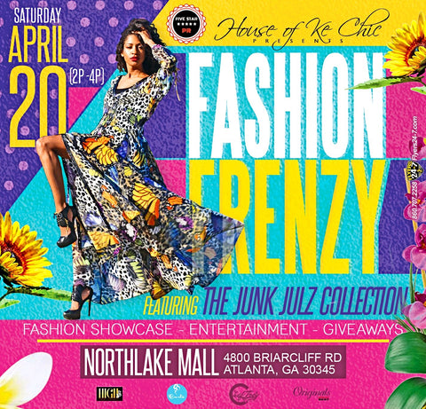 Fashion Frenzy Flyer
