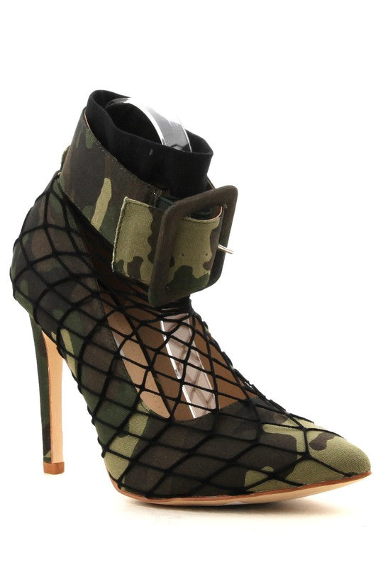 Camo Netted Pumps