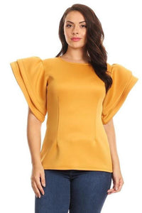 *LaBelle Blouse in Mustard