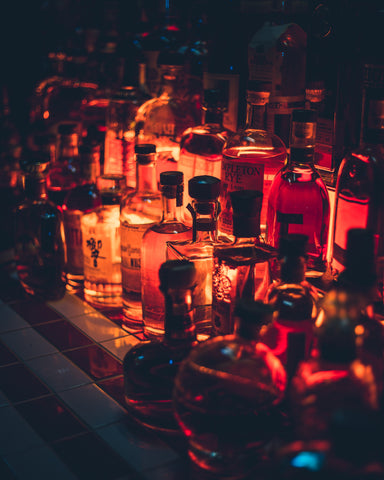 How to stock Your Home bar Barsys Vodka rum tequila mixers spirits cocktails bitters