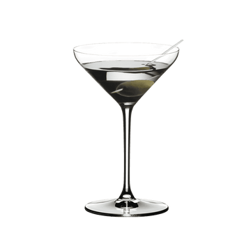 Set of 2 Riedel Extreme Martini Crystal Glasses