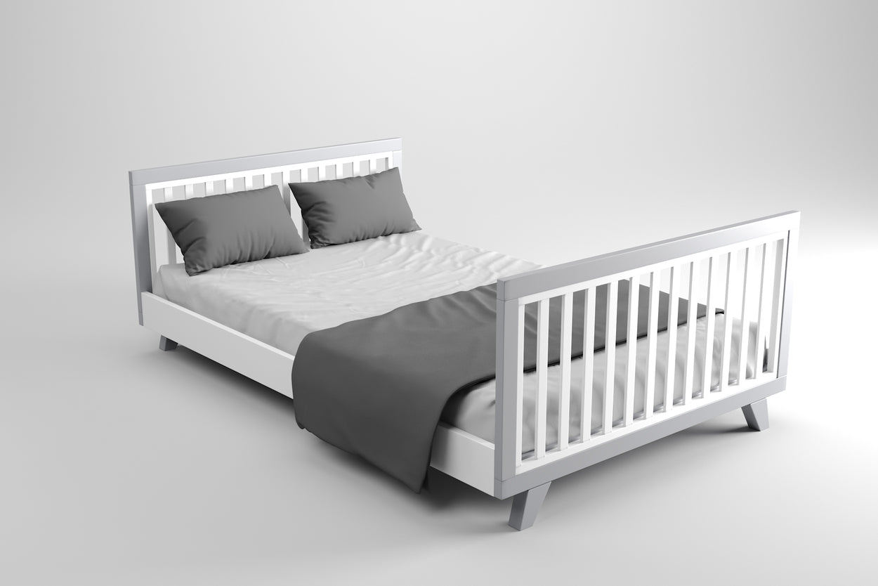 Chelsea Lifetime Double Bed Only Grey
