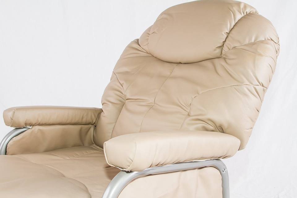 Royale Glider Chair & Ottoman