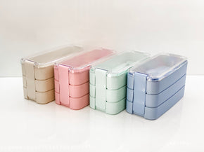 Bento Lunch Box 3 Tiered | Green