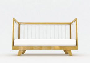 Expecting Again Package Natural - Chelsea Cot & Double Bed - Two Pieces of Furniture assembled at the SAME TIME.