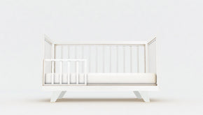Pre Order Only | Chelsea Conversion Package White - Turn your Dream Nursery into a Dream Bedroom  -  Includes Chelsea Cot + Double Bed Extension Kit.