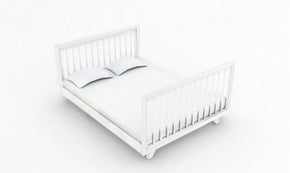 Chelsea Conversion Package White - Includes Chelsea Cot + Double Bed Extension Kit