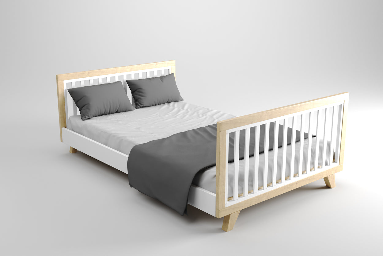 Chelsea Cot Natural & Innerspring Mattress Package