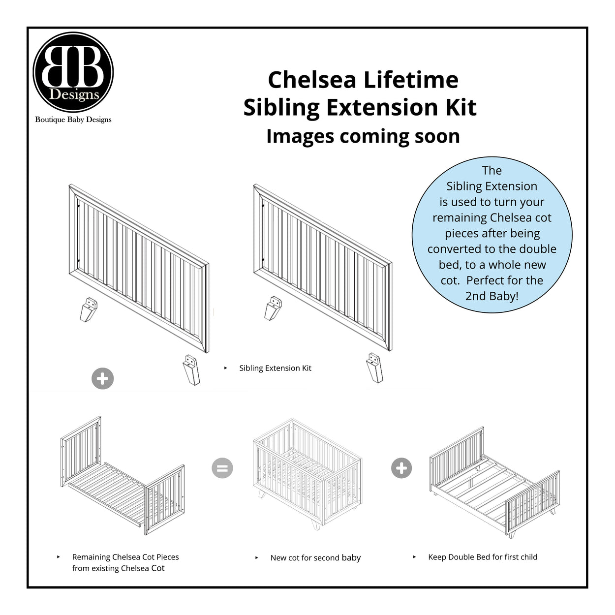 Chelsea Lifetime Sibling Extension Kit