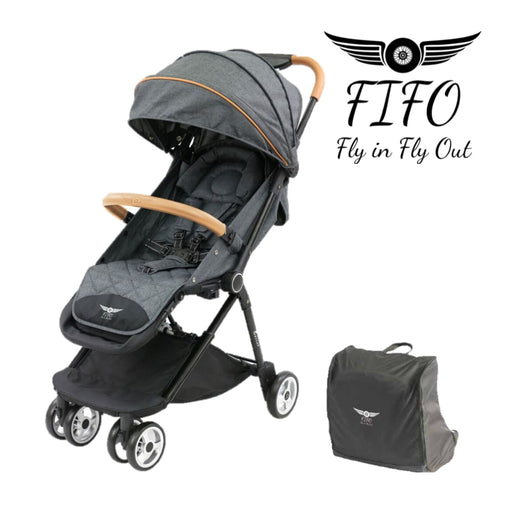 FIFO PLUS Genius Stroller Grey Marle