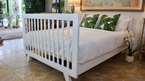 Chelsea Conversion Package White - Turn your Dream Nursery into a Dream Bedroom  -  Includes Chelsea Cot + Double Bed Extension Kit.