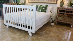 Chelsea Lifetime Double Bed Only White