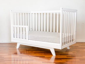 Boston Cot & White Hampton Change Table Package - PRE-ARRIVAL DEAL TO COMMENCE SOON