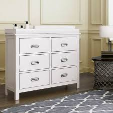 Brooklyn 6 Drawer Chest with Change Tray
