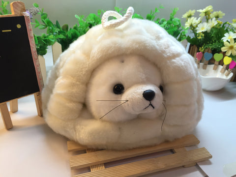 Super Fluffy Seal Toy