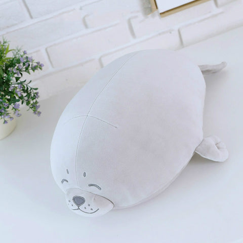 Lazy Seal Plush Toy
