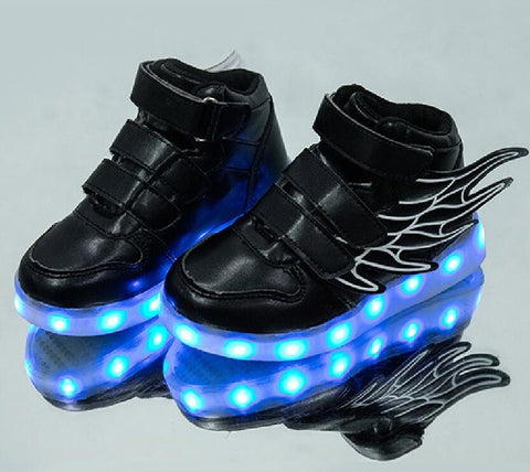 Kids LED Winged sneakers